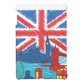vintage lone flag and cities cover for the iPad mini