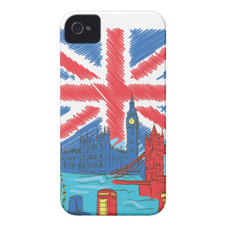 vintage lone flag and cities iPhone 4 Case-Mate case