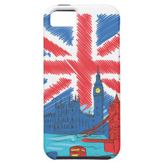 vintage lone flag and cities iPhone 5 cases