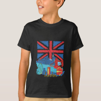 vintage lone flag and cities T-Shirt