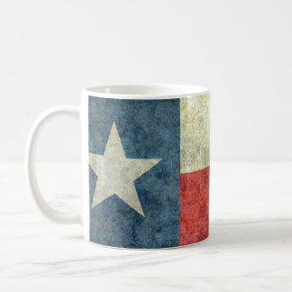 Vintage Lone star state flag of Texas Coffee Mug