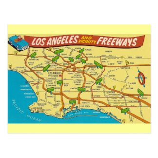 Vintage Los Angeles Postcard