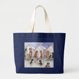 Vintage Louis Wain Beach Cats Bag
