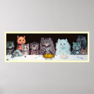Vintage Cat Posters Zazzle Canada