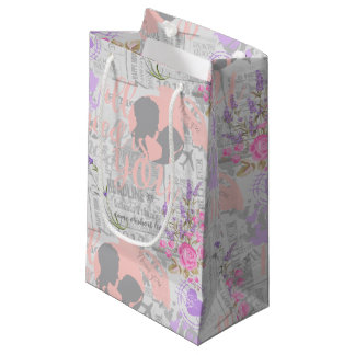 Vintage Love, All I Need is You Small Gift Bag