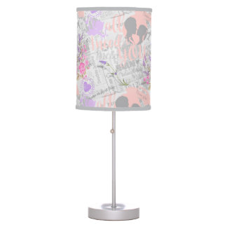 Vintage Love, All I Need is You Table Lamp