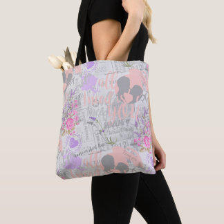 Vintage Love, All I Need is You Tote Bag
