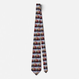 Vintage Love and Romance, Couple at Football Game Tie