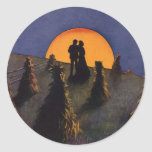 Vintage Love and Romance, Harvest Moonlight Sticker