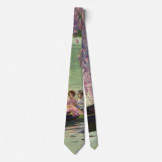 Vintage Love and Romance, Romantic Canoe Ride Tie