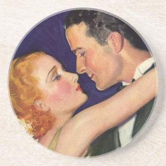 Vintage Love and Romance, Romantic Hollywood Beverage Coasters