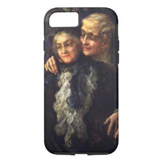 Vintage Love and Romance, Romantic Victorian Art iPhone 7 Case