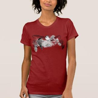 Vintage Love Birds T-shirt