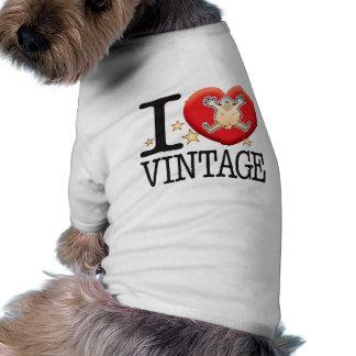 Vintage Love Man Doggie Tee Shirt