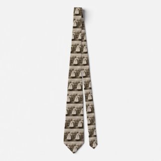 Vintage Love Romance, Children Kissing, First Kiss Tie