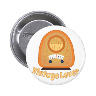Vintage Lover 2 Inch Round Button