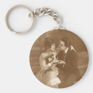 Vintage Lovers Key Chain