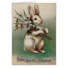Vintage Loving Easter Greeting Card