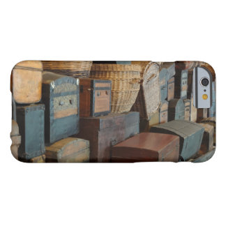 Vintage Luggage Barely There iPhone 6 Case