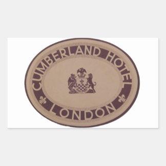 Vintage Luggage Label: Cumberland Hotel