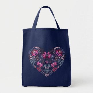 Vintage luxury design. Heart stylish pattern Tote Bag