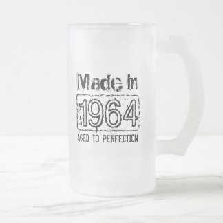 Vintage Made in 1964 Aged to perfection beer mug