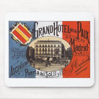 Vintage Madrid Mouse Pad