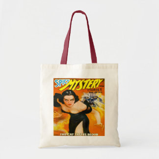 VINTAGE MAGAZINE COVER  Budget Tote Bag