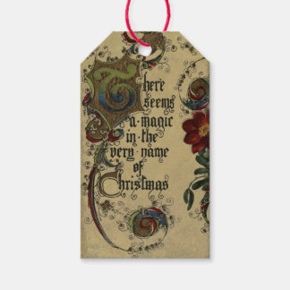 Vintage Magic of Christmas Gift Tag Pack Of Gift Tags