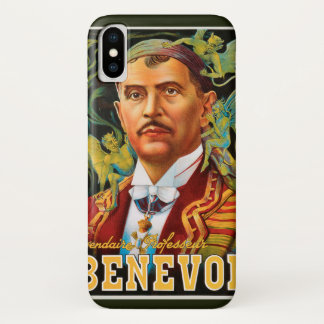 Vintage Magic Poster, Legendary Professor Benevol Case-Mate iPhone Case