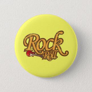 Vintage Magnet, Keychain, Button - Rock 'n Roll