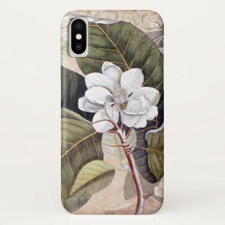 Vintage Magnolia Antique Botanical Collage Case-Mate iPhone Case