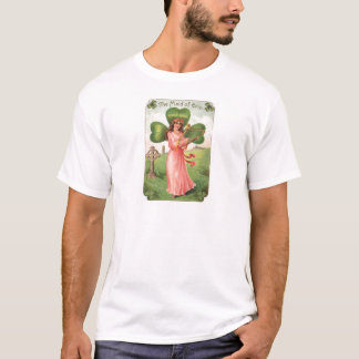 Vintage Maid of Erin St Patrick's Day Card T-Shirt