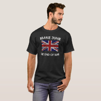 Vintage Make June the End of May T-Shirt