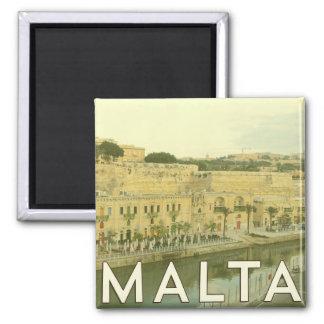 Vintage Malta Magnet