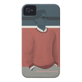 vintage man Case-Mate iPhone 4 case