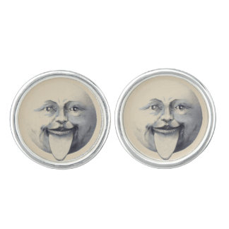 Vintage/Man in the Moon Cufflinks