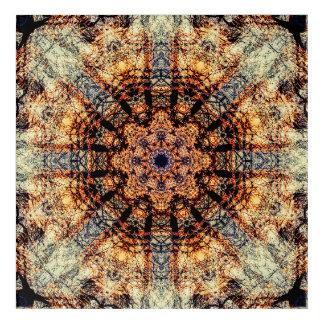 Vintage Mandala Acrylic Print