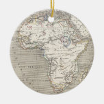 Vintage Map of Africa ornament