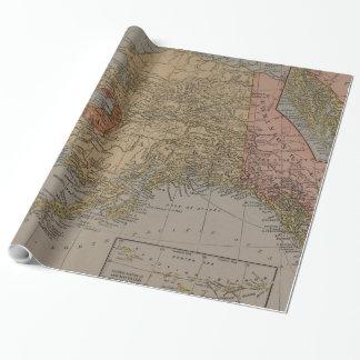 Vintage Map of Alaska (1910)