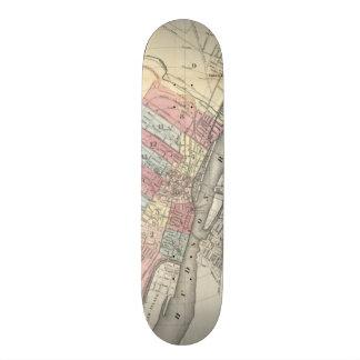 Vintage Map of Albany NY (1874) Skateboards