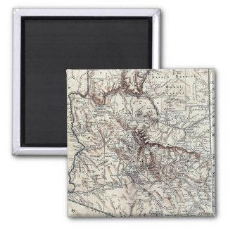 Vintage Map of Arizona (1911) Fridge Magnet