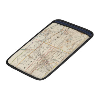 Vintage Map of Arizona and New Mexico (1866) MacBook Air Sleeve