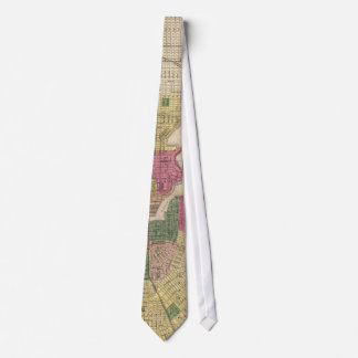 Vintage Map of Baltimore (1873) Tie