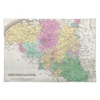 Vintage Map of Belgium (1827) Place Mats