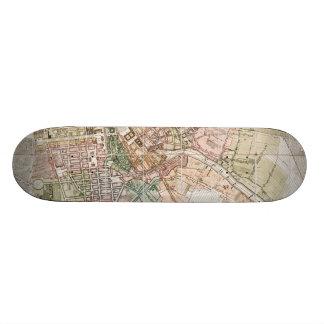 Vintage Map of Berlin (1811) Custom Skateboard