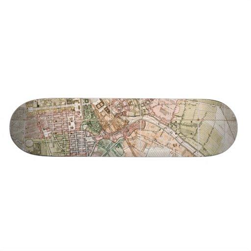 Vintage Map of Berlin (1811) Skate Deck