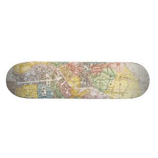 Vintage Map of Berlin (1846) Skateboard Decks