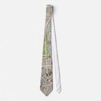 Vintage Map of Berlin Germany (1905) Tie