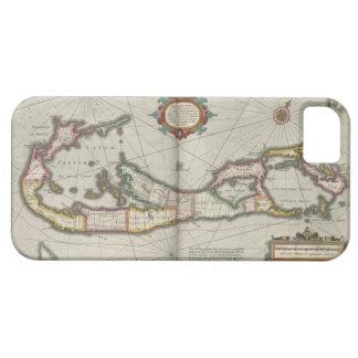 Vintage Map of Bermuda (1638) iPhone 5 Covers